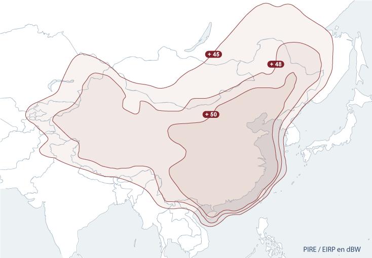 Chinasat-6A / Banda-Ku