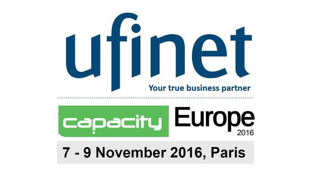 Ufinet @ Capacity Europe 2016