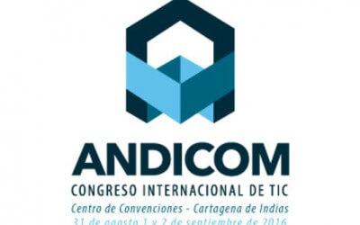 Visit us @ Andicom 2016