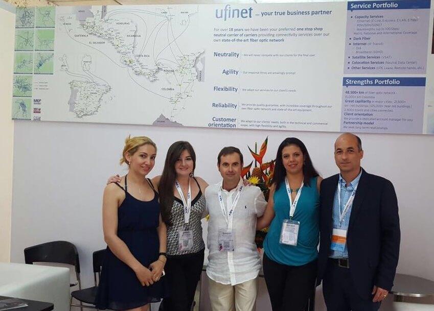 Ufinet participated in Andicom 2016