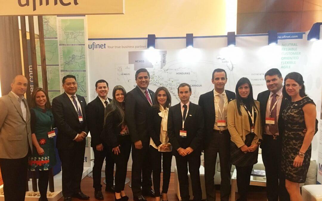 A Ufinet participou da Capacity Central America & Andean 2016