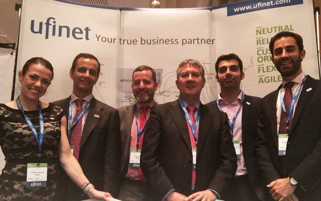 Ufinet was present @ Capacity Europe 2016