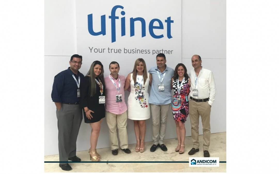 UFINET present @ ANDICOM 2017