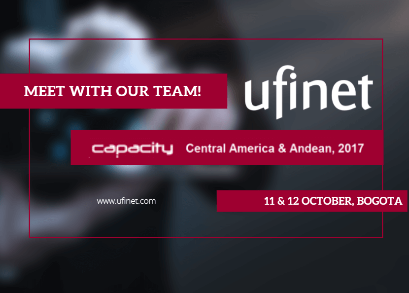 UFINET present at Capacity Central America & Andean 2017