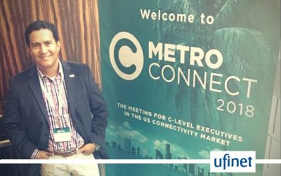Ufinet attended Metro Connect 2018