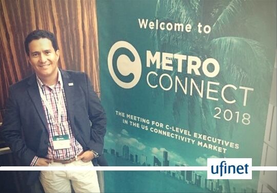A Ufinet participou do Metro Connect 2018
