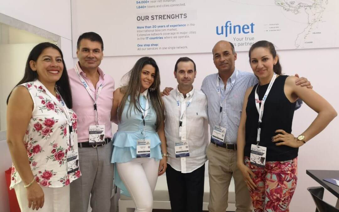 Ufinet Team at Andicom 2018
