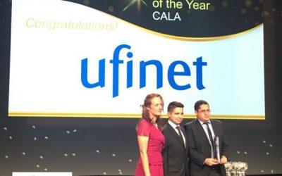 """UFINET recibe el MEF Award """"Mejor Proveedor de Servicios del año-CALA"""""""