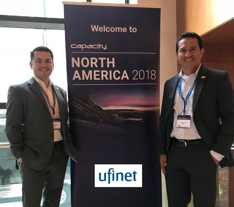 Ufinet participated in Capacity North America 2018