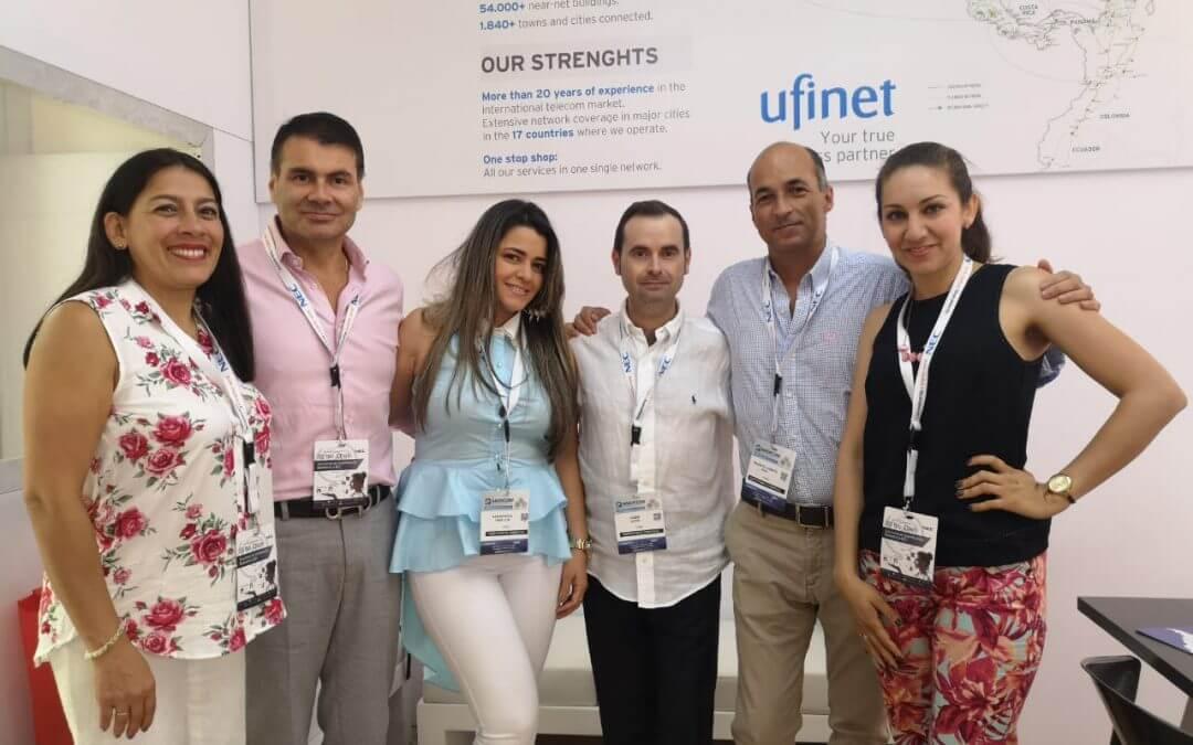 Ufinet participates in Andicom 2018