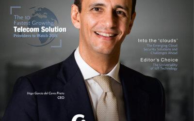 UFINET galardonado como uno de los 10 proveedores de soluciones de telecomunicaciones con mayor crecimiento 2018
