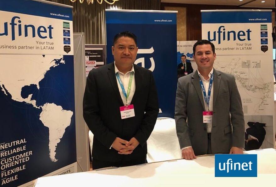 UFINET @ Capacity Asia 2018