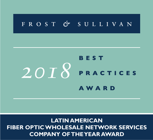 UFINET receives a Frost & Sullivan Award for best practices