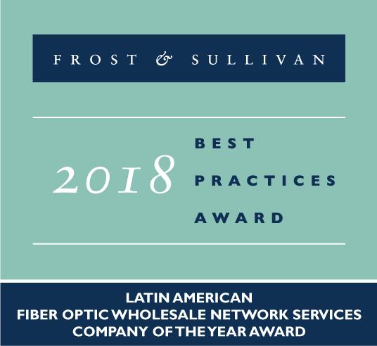 UFINET recibe Premio a las Mejores Prácticas de Frost & Sullivan