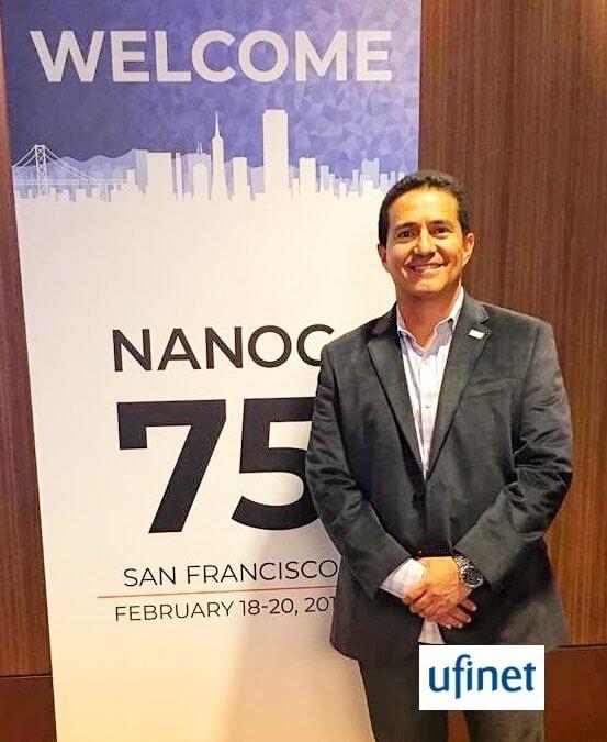 UFINET presente en NANOG 75