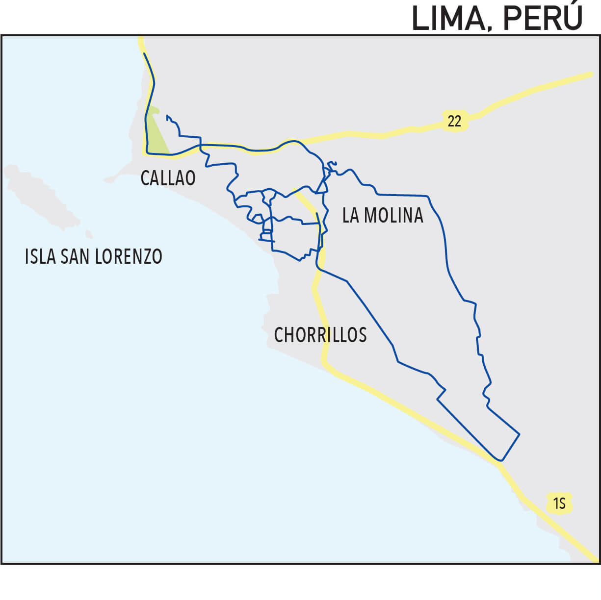 Capillarity Perú map Ufinet