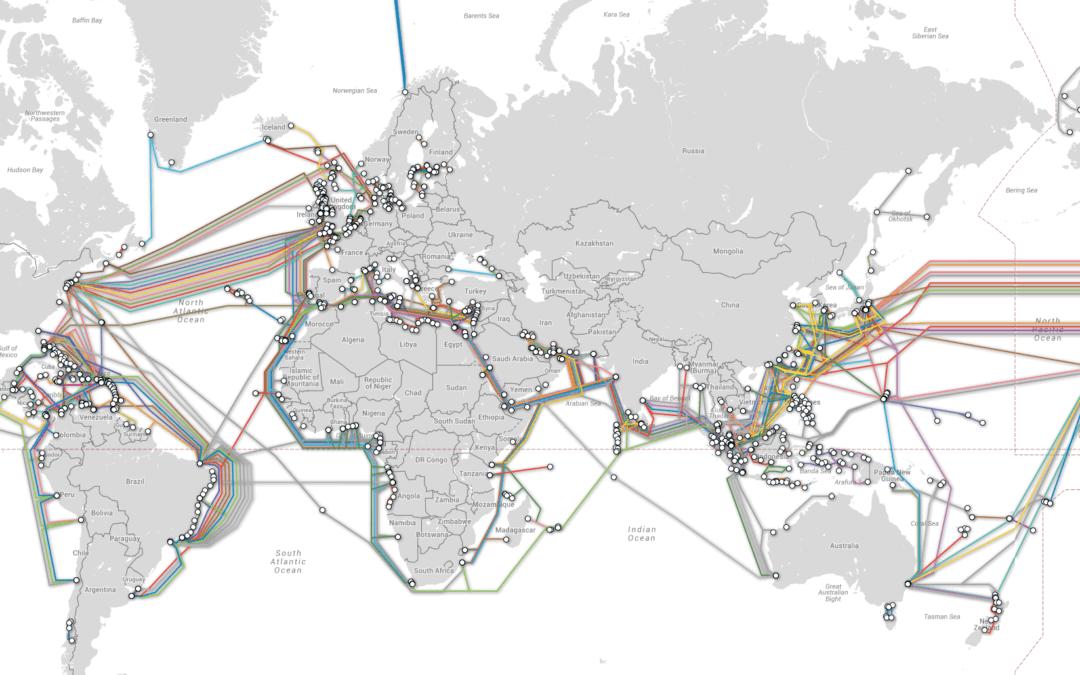 Cables submarinos y la era de Internet