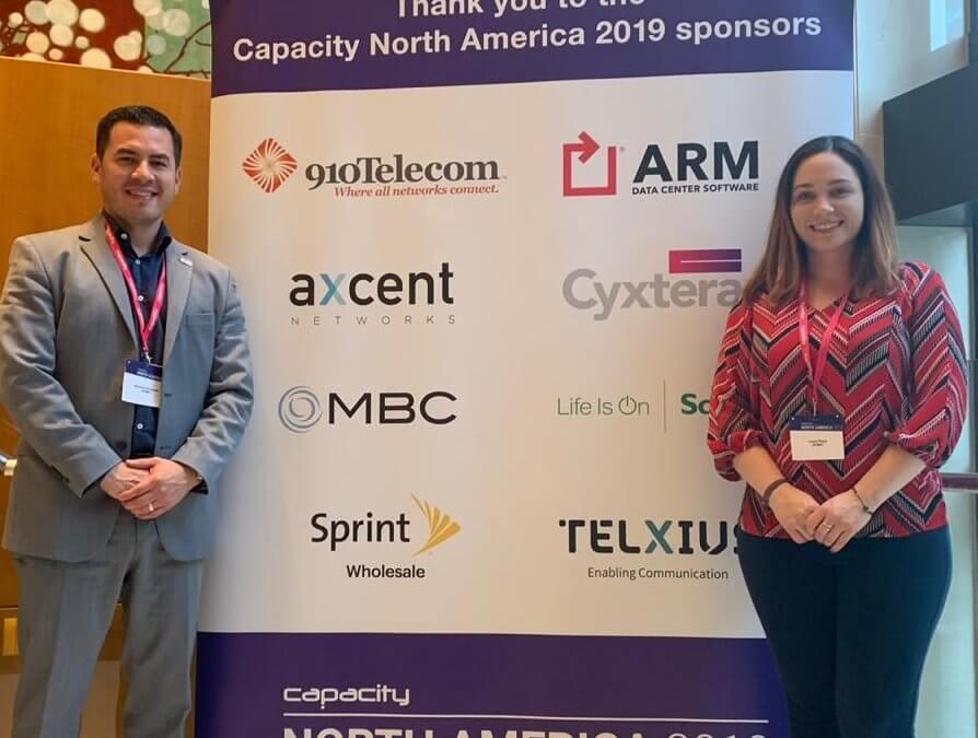 Ufinet present at Capacity North America 2019, USA