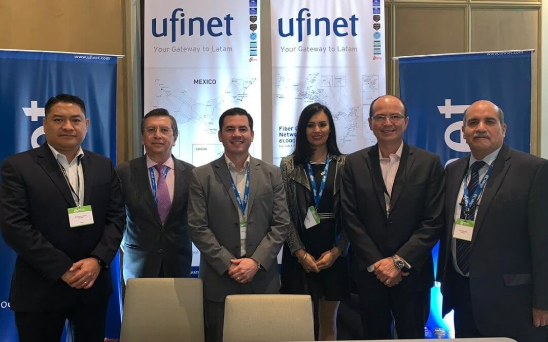 UFINET presente en Mexico Connect 2019, Mexico City
