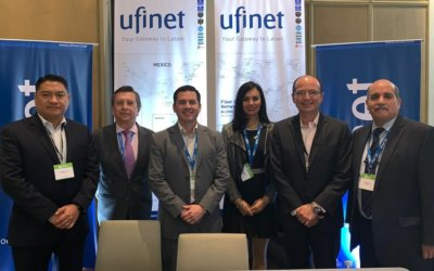 UFINET presente en Mexico Connect 2019, Mexico City