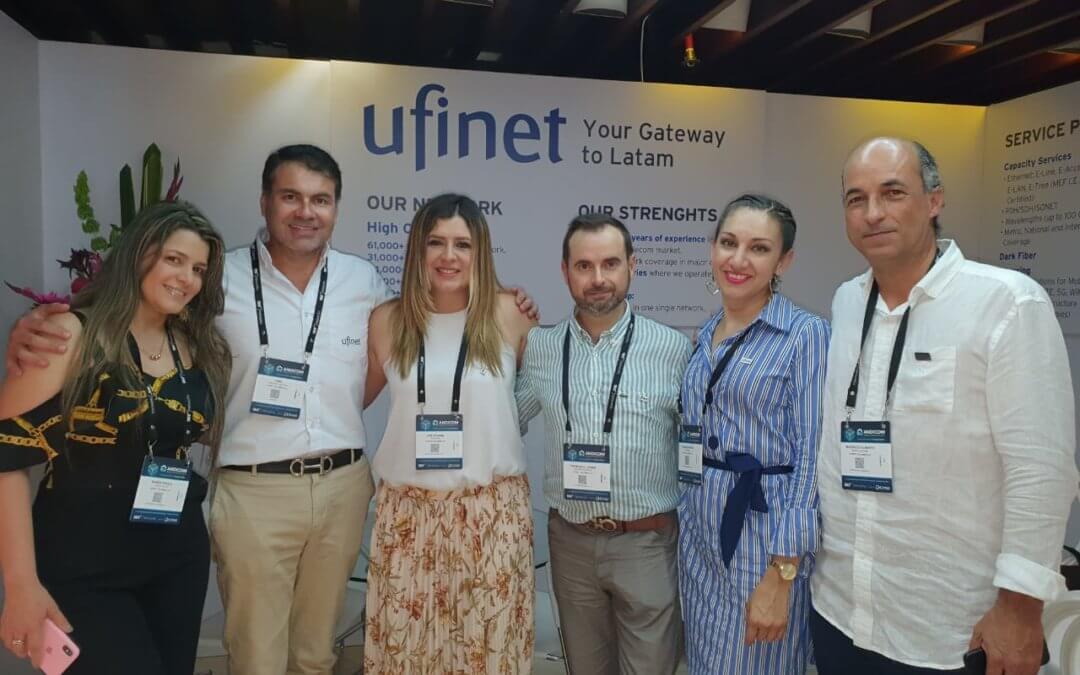 UFINET asistió a Andicom 2019 en Cartagena de Indias, Colombia