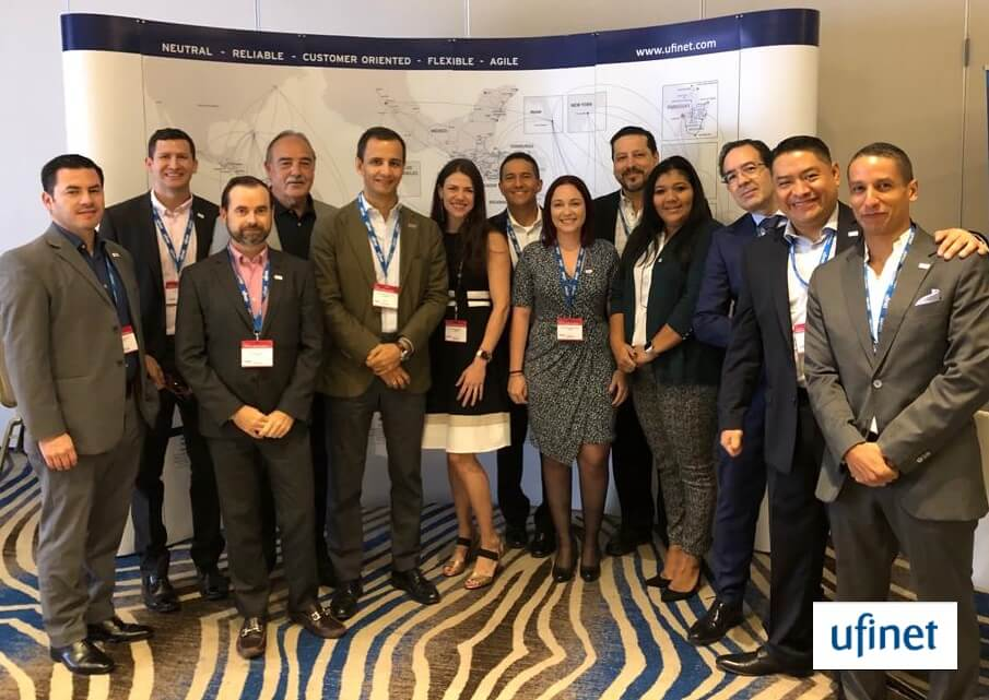 UFINET participated as Gold Sponsors in Capacity Central America & Andean 2019