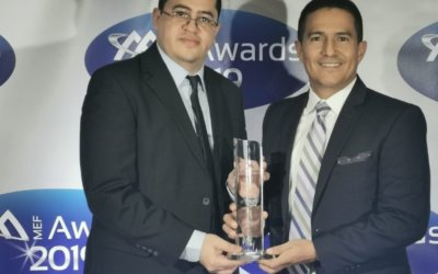 "UFINET wins MEF Award ""Service Provider of the Year 2019 – CALA"""