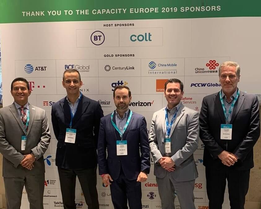 UFINET present at Capacity Europe, 2019