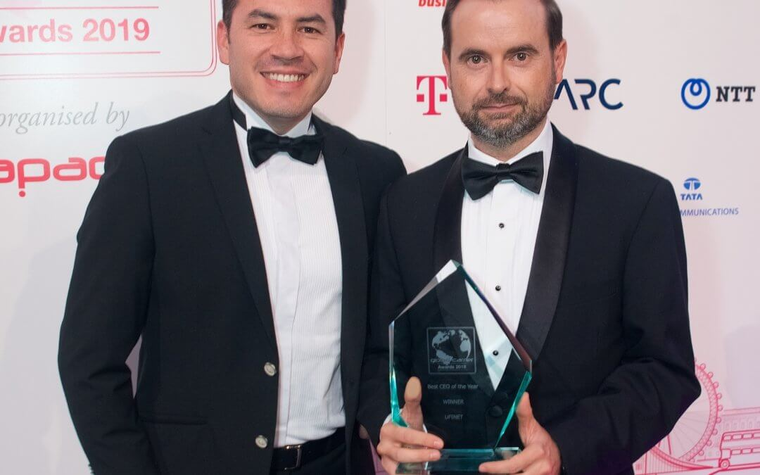 "UFINET wins the ""CEO of the Year"" Award of Global Carrier Awards – Capacity Media"