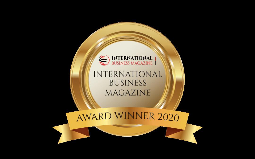 UFINET – International Business Magazine Award Winner 2020