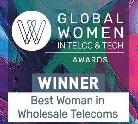 Capacity AWARDS Global Woman in Telco & Tech 2020
