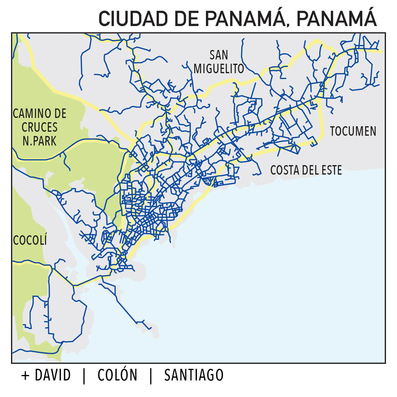 Capillarity Panamá map Ufinet